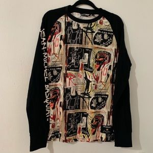 Sean John - Jean-Michel Basquiat graphic shirt